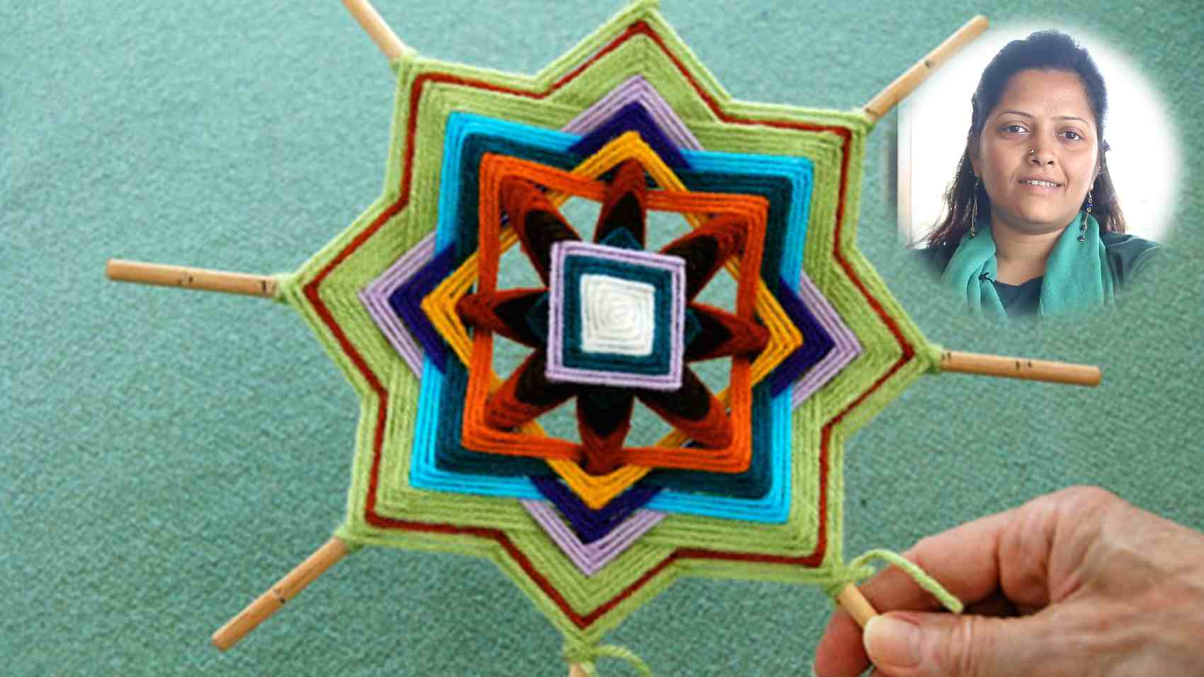 Mandala Weaving