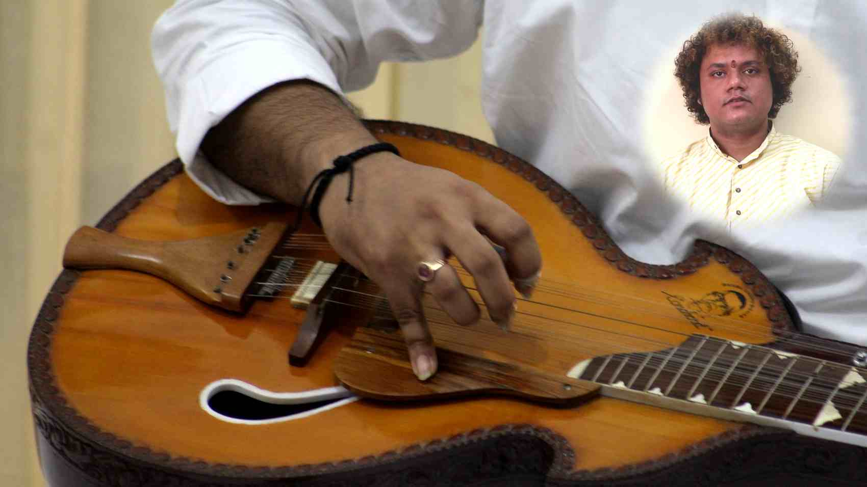 Career in Playing Veena
